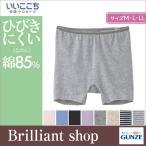 ショッピンググンゼ GUNZE グンゼ いいここち 快適ショーツ for LADIES' ひびきにくい 綿85% レギュラーショーツ (M・L・LLサイズ) HR0562
