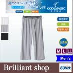 ショッピングステテコ グンゼ COOL MAGIC 爽やかメッシュ for MEN'S ニーレングスボトム (M・L・LLサイズ) MC1907H