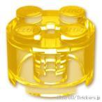 レゴ パーツ ばら売り ブロック 2 x 2 - ラウンド:トランスイエロー | lego 部品