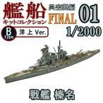 (宅配便限定)艦船キットコレクションFINAL 01B:戦艦 榛名 洋上Ver. エフトイズコンフェクト 1/2000
