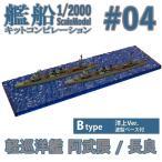 (宅配便限定)艦船キットコンピレーション 軽巡洋艦 阿武隈/軽巡洋艦 長良 Btype(洋上Ver.) エフトイズコンフェクト 1/2000
