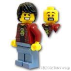 レゴ ムービー ミニフィグ ブラックトロン・ボーイ | lego フィギュア 人形 ミニフィギュア