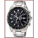 CASIO EDIFICE カシオ エディフィス クロノグラフ メンズ腕時計 ブラック文字盤 メタルベルト EF-547D-1A1 海外モデル
