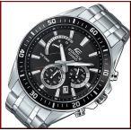 CASIO EDIFICE カシオ エディフィス クロノグラフ メンズ腕時計 ブラック文字盤 メタルベルト 海外モデル EFR-552D-1A