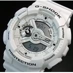 CASIO G-SHOCK カシオ Gショック メンズ腕時計 Marine White マリンホワイト アナデジモデル 海外モデル GA-110MW-7A