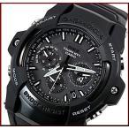 CASIO/G-SHOCK カシオ / Gショック THE-G GIEZ ソーラー電波腕時計 ガンメタ文字盤 ブラックラバーベルト 国内正規品 GS-1400B-1AJF