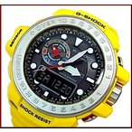 CASIO G-SHOCK カシオ Gショック GULFMASTER / ガルフマスター メンズ ソーラー電波腕時計 イエロー 海外モデル GWN-1000-9A