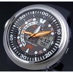 CITIZEN / PROMASTER MARINE シチズン / プロマスター マリンメンズ ソーラー腕時計 ダイバーズ ブラックラバーベルト JV0000-01E 海外モデル PMV65-2221