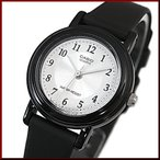 CASIO Standard カシオ スタンダード アナログクォーツ レディース腕時計 ラバーベルト シルバー/ホワイト文字盤 国内正規品 LQ-139AMV-7B3LWJF