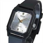 CASIO Standard カシオ スタンダード アナログクォーツ レディース腕時計 ラバーベルト シルバー/ゴールド文字盤 海外モデル LQ-142E-7A