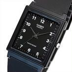CASIO Standard カシオ スタンダード アナログクォーツ メンズ腕時計 ラバーベルト ブラック文字盤 海外モデル MQ-27-1B