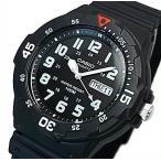 CASIO Standard カシオ スタンダード アナログクォーツ メンズ腕時計 ラバーベルト ブラック文字盤 海外モデル MRW-200H-1B