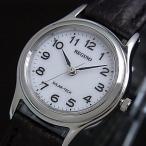 CITIZEN/REGUNO シチズン/レグノレディース ソーラー腕時計 ホワイト文字盤 ブラックレザーベルト RS26-0033C 国内正規品