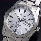SEIKO / Quartz セイコー / クォーツ 軽量チタンモデル メンズ腕時計 メタルベルト シルバー文字盤 SGG727P1 海外モデル