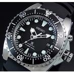 SEIKO PROSPEX KINETIC セイコー プロスペックス キネテック ダイバーズ メンズ腕時計 ブラック文字盤  ラバーベルト SKA371P2 海外モデル