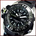 SEIKO / SEIKO5 Sports セイコー5スポーツ / ファイブスポーツ 自動巻 ダイバーズ メンズ腕時計 マップメーター搭載 メタル SKZ231K1 海外モデル