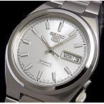 SEIKO / SEIKO5 セイコー5 / セイコーファイブ メンズ腕時計 自動巻 メタルベルト シルバー文字盤 SNKC49J1 MADE IN JAPAN 海外モデル