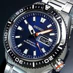 SEIKO / 200m diver's watch セイコー / 200m防水ダイバーズ 自動巻 メンズ腕時計 メタルベルト ネイビー文字盤 海外モデル SRP493K1