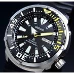 SEIKO / PROSPEX セイコー / プロスペックス 200m防水 ダイバーズ 自動巻 メンズ腕時計 ラバーベルト ブラック文字盤 海外モデル SRP639K1