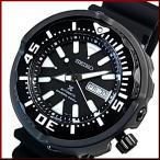 SEIKO PROSPEX セイコー プロスペックス ダイバーズウォッチ 自動巻 メンズ腕時計 ブラックラバーベルト ブラック文字盤 海外モデル SRPA81K1