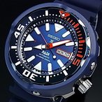 SEIKO PROSPEX セイコー プロスペックス ダイバーズウォッチ PADI Special Edition 自動巻 メンズ腕時計 ラバーベルト ネイビー文字盤 海外モデル SRPA83K1