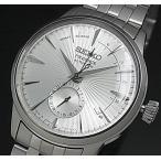 SEIKO Presage セイコー プレサージュ パワーリザーブ付 自動巻 メンズ腕時計 シルバー文字盤 メタルベルト Made in Japan 海外モデル SSA341J1