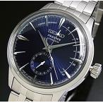 SEIKO Presage セイコー プレサージュ パワーリザーブ付 自動巻 メンズ腕時計 ネイビー文字盤 メタルベルト Made in Japan 海外モデル SSA347J1