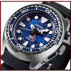 SEIKO PROSPEX セイコー プロスペックス キネテック GMT メンズ腕時計 PADI Special Edition ネイビー文字盤 ブラックラバーベルト SUN065P1 海外モデル