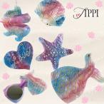 Tippi tippi TIPPI ミラー コンパクトミラー かわいい コスメ おしゃれ マーメイド ユニコーン ハート レインボー ゆめかわいい