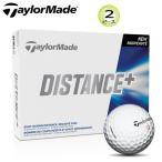 テーラーメイド ディスタンスプラス 2ピースボール 1ダース(12個入) [TaylorMade DISTANCE+ 2-PIECE GOLF BALL] USモデル