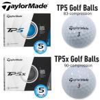 テーラーメイド TP5 シリーズ 5ピース ゴルフボール 1ダース(12球入) [TaylorMade TP5 SERIES 5-PIECE GOLF BALL] USモデル