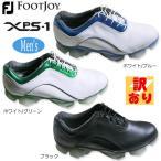 【訳あり】フットジョイ XPS-1 (エクストラ ワイド/EEE) ソフトスパイク ゴルフシューズ [FootJoy XPS-1 XW SOFTSPIKES GOLF SHOES] USモデル