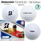 ブリヂストン TOUR B XS タイガーウッズ エディション 3ピース ゴルフボール 1ダース (12球入) USモデル