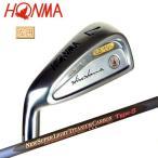 【レフティ】本間ゴルフ(ホンマ) LB-606 NEW H&F アイアン 10本組(#3-10.11.SW) K18メタル Newスーパーライトチタンカーボン3S★★★(Type-S)シャフト