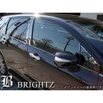 BRIGHTZ タント LA600S LA610S 超鏡面ステンレスブラックメッキウィンドウモール 4PC RBM-607-RET