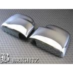 BRIGHTZ エブリィワゴン DA64W メッキドアミラーカバー Aタイプ MMC-EVR-DYA