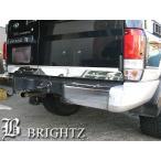 BRIGHTZ プラド 70系 超鏡面ステンレスメッキトランクリッドモール