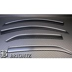 BRIGHTZ マークX 120 121 125 最高級サイドバイザー メッキモール&金具付 INJ−V−69