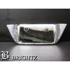 BRIGHTZ タントカスタム LA600S LA610S メッキリアライセンスプレート Cタイプ LICENSE-015