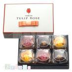 チューリップローズ ショコラローズとチューリップラングドシャ 6個入 TOKYO TULIP ROSE 専用おみやげ袋(ショッパー)付き 冷蔵(クール)便発送推奨