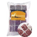 【エゾ鹿ブリタニア】エゾ鹿肉 ミンチ 500g 冷凍商品