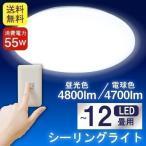 ショッピングled電球 LEDシーリングライト 12畳 電球色 昼光色 CL-E12 ビームテック
