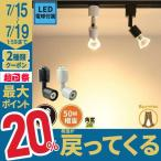 LED 電球付き 配線ダクトレール用 E11 口金 スポットライト ライティングレール レール 器具 照明 LED 電球色 500lm 昼白色 550lm E11RAIL LDR6-E11