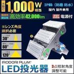 ショッピングLED LED投光器 300w 水銀灯1000w相当 屋内 屋外両方可能 IP65防塵 防水 MeanWell電源 レンズ角度30度 60度 120度選択 LEP300Y 昼白色 LEP300W LED 電球色