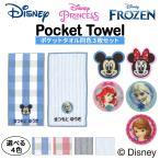 名入れ 刺繍 ポケットタオル ディズニー 5枚 名前 子供 男の子 女の子 ギフト ハンドタオル キャラクター OR