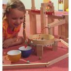 ドラミングセット(クーゲルバーン追加セット) HABA(ドイツ) 正規輸入品 木のおもちゃ
