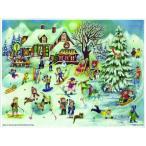 アドベントカレンダー・ゲレンデ クリスマス装飾品