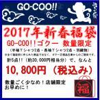 GO-COO!!ゴクー 悟空本舗  2017年迎春福袋 『GO-COO!!ゴクー 10800円福袋・5点入り数量限定』送料無料