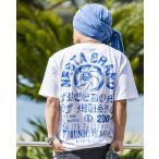 NESTA BRAND ネスタブランド×HAN-KUN 半袖Tシャツ 182NB1006 吸水速乾 グリッターラメ 半袖Tシャツ ホワイト