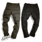 GOWEST(ゴーウエスト GOWEST)BIKER LOOSE PANTS / SATIN STRETCH PREMIUM PEACH